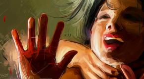 viol dessin
