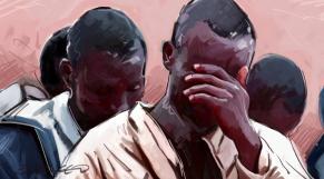 Immigration Subsahariens dessin