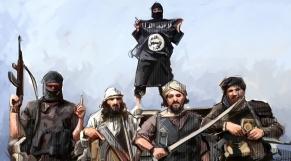 Terrorisme Daech dessin