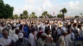 La prière de l'Aid Al-Adha
