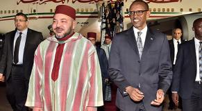 Mohammed VI et Paul Kagamé