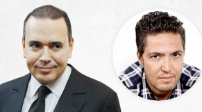 Mounir Majidi et Zakaria Moumni