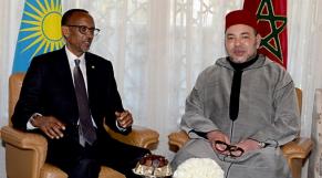 Mohammed VI et Kagame