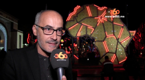 Cover Video -Le360.ma •Mohamed El Baz réalise une extraordinaire oeuvre artistique