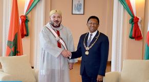 roi et president malgache