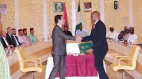 Benchaâboun signature Nigéria