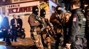 turquie police