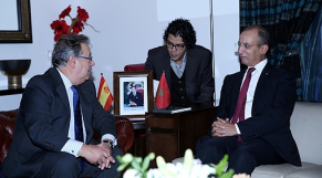 Hassad et Juan Ignacio Zoido
