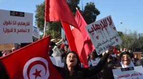 Manif Tunisie