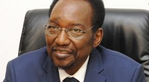 Dioncounda Traoré, ancien président malien.