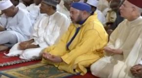 le roi Mohammed VI prière nigéria