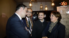 Cover: La Macron-mania gagne le Maroc