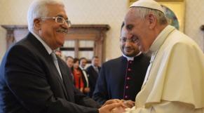 Abbas et le pape