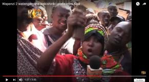 """Vidéo. Insolite: un couple kenyan adultère reste collé, victime du """"penis captivus"""""""