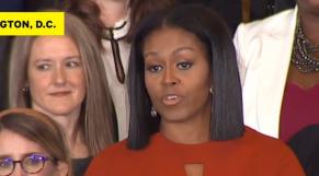 Michèlle Obama discours