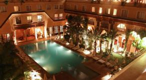 Marrakech hôtel jardins de la Koutoubia