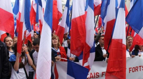 Défilé front national