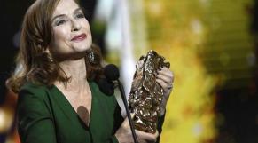 Isabelle Huppert, César de la meilleure actrice