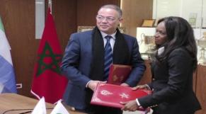 Lekjaa et présidente FF sierra leone
