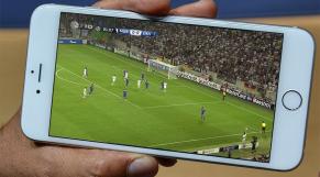 Football sur portable