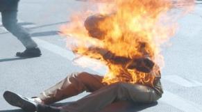 immolation algérie
