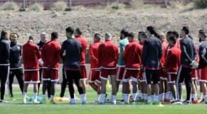 Lions de l'Atlas à l'entraînement