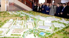 Maquette ville nouvelle Tanger Haite