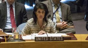 ambassadrice US à l'ONU Nikki Haley