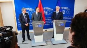 Malki et Antonio Tajani