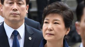 Présidente Corée du Sud