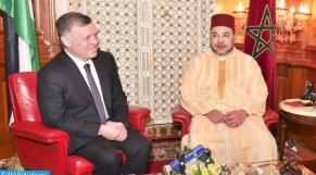 Rois Jordanie et Maroc