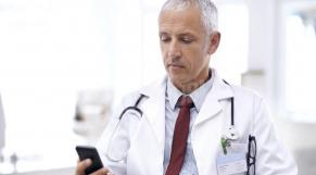 Test médical smartphone