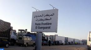 Guerguerat: des transporteurs marocains confirment l'obstruction du trafic par le Polisario