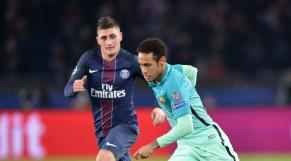 Verratti et Neymar