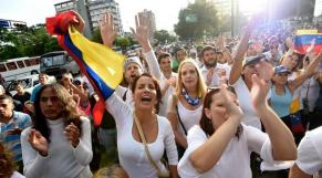 Venezuela manifestantes