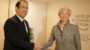 Chahed et Lagarde