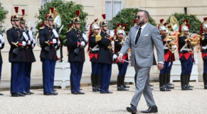 Roi Mohammed VI François hollande