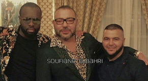 Mohammed VI et Maître Gims