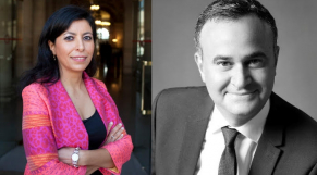 Erwan Davoux et Leila Aïchi