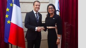 Emmanuel Macron-Nawal El Moutawakkil2