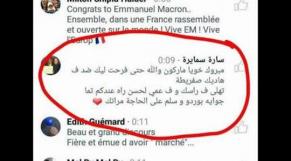 commentaire Macron
