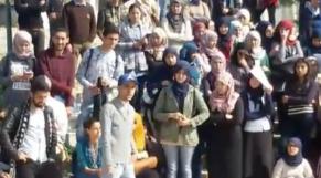Manifestation étudiants Tétouan