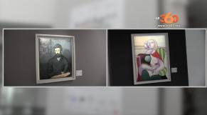 """cover: Visite guidée de l'exposition-évènement """"face à Picasso"""""""