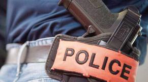 Pistolet police Maroc