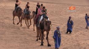 Cover Vidéo... Premier jour de l'Eductour de l'ONMT dans la région Draa Tafilalet