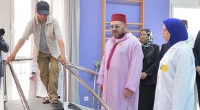 Le roi Mohammed VI inaugure un Centre de rééducation et de réadaptation fonctionnelle à Ain Chock à Casablanca