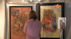 Cover Vidéo... expo en hommage au peintre feu Larbi Belcadi