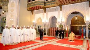 Mohammed VI recevant les nouveaux walis et gouverneurs