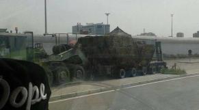 Nouveaux chars américains aux FAR