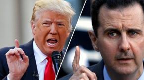 Donald Trump et Bachar Assad